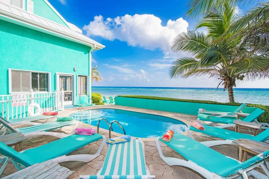 caribbean beachfront homes